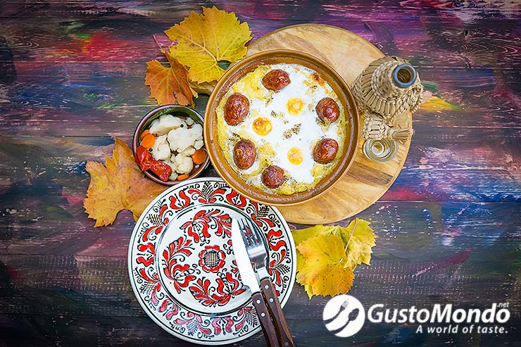 posh polenta romanian recipe and meats