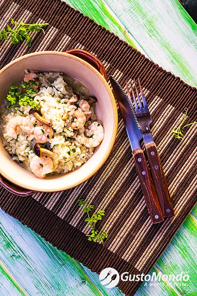 green prawns pilau recipe
