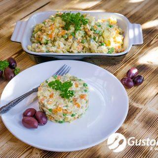 recipe salata de boeuf
